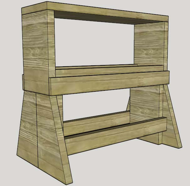 Portable Workbench Plans