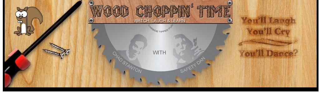 Wood Choppin' Time Logo