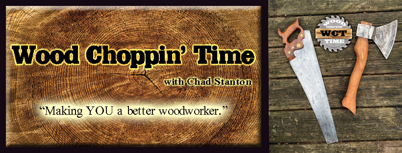 Wood Choppin' Time Logo